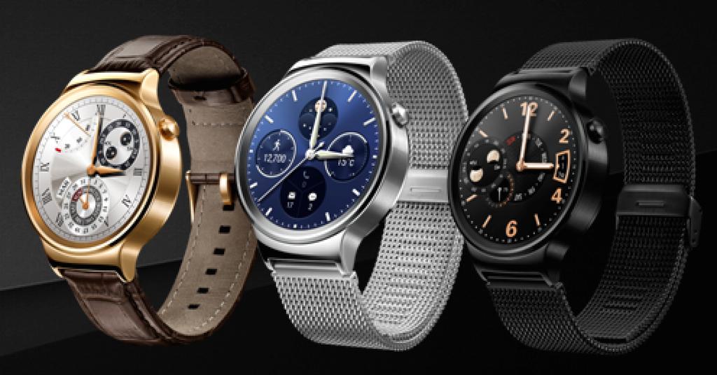 Huawei презентовала первые в мире стильные смарт-часы (5 фото