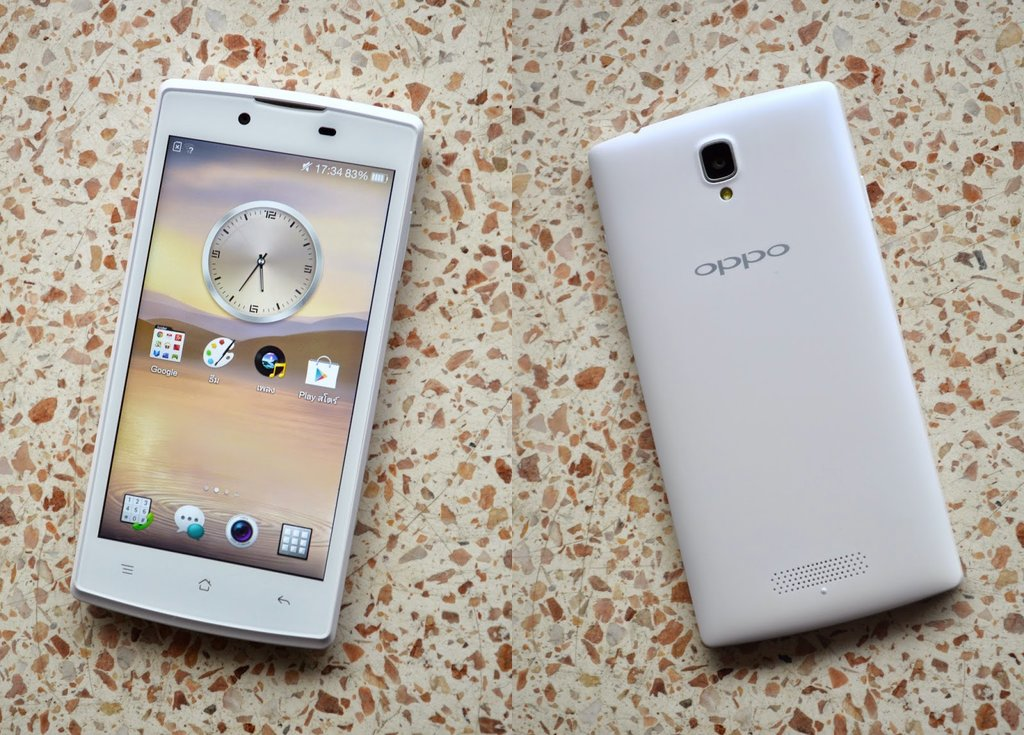 Smaller Oppo Neo 5 and Neo 5s Sport 4.5″ Display, Dual Cameras, and Expandable Memory