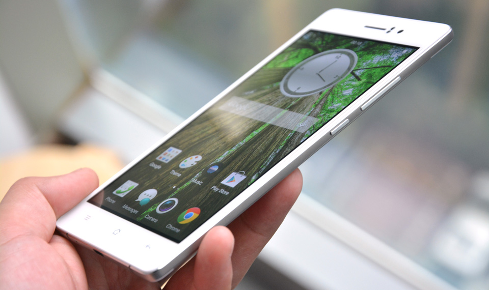 New Android Phone Review - Oppo R5s with 4.85mm Thickness, 3GB of RAM and More