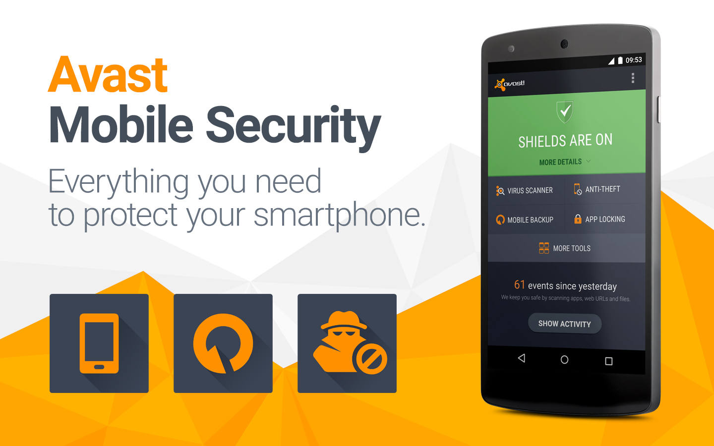 Avast Free Antivirus For Android Mobile Phones