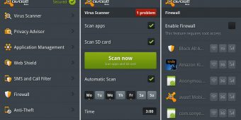 Android Security Apps Review - Avast Mobile Security