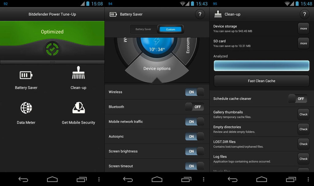 Bitdefender Mobile Security and Antivirus Android