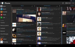 Plume for Twitter Android