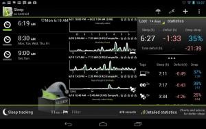 SleepBot - Sleep Cycle Alarm Android