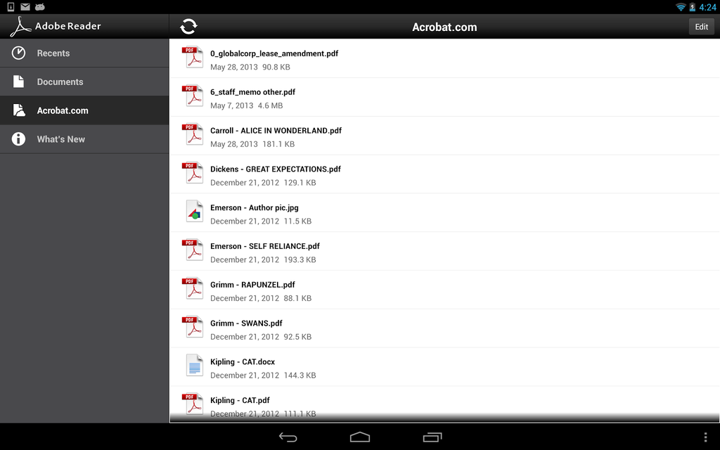 Adobe Reader Android App Review and Download