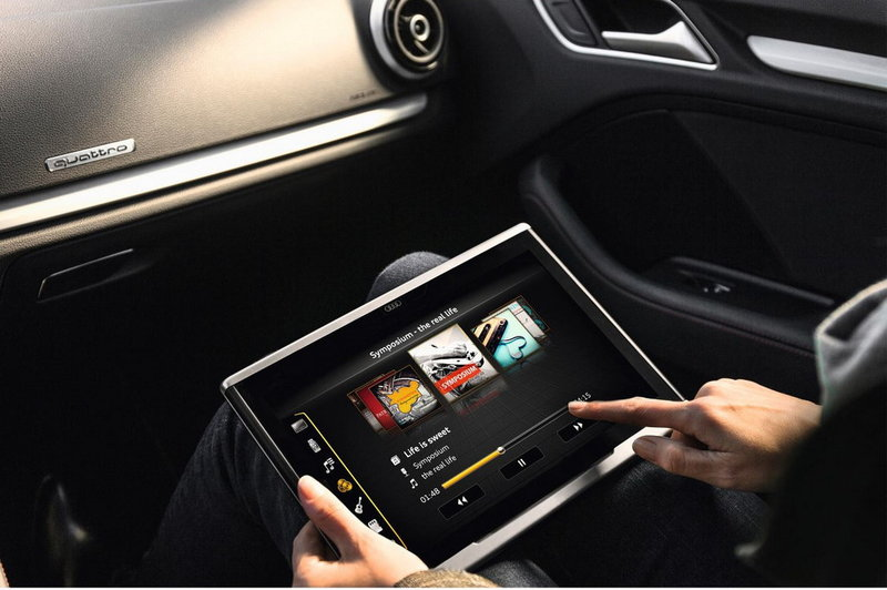 New 12.1″ Audi Android Tablet Proves to be Much more than a Tabet