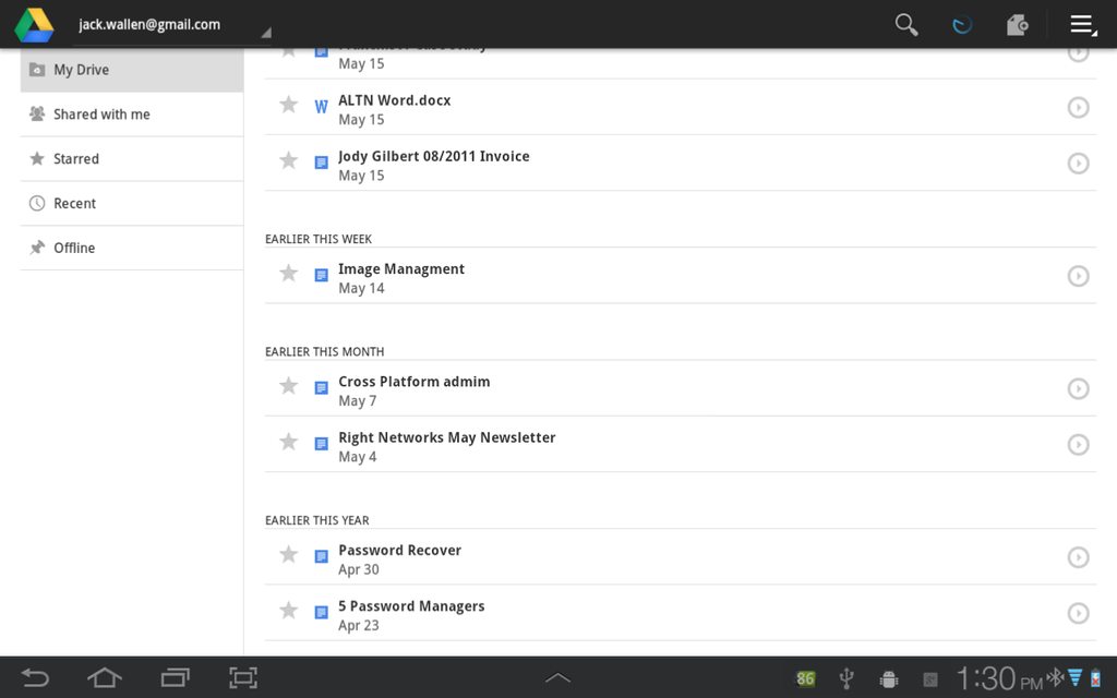 Google Drive Android App Review and Free Download