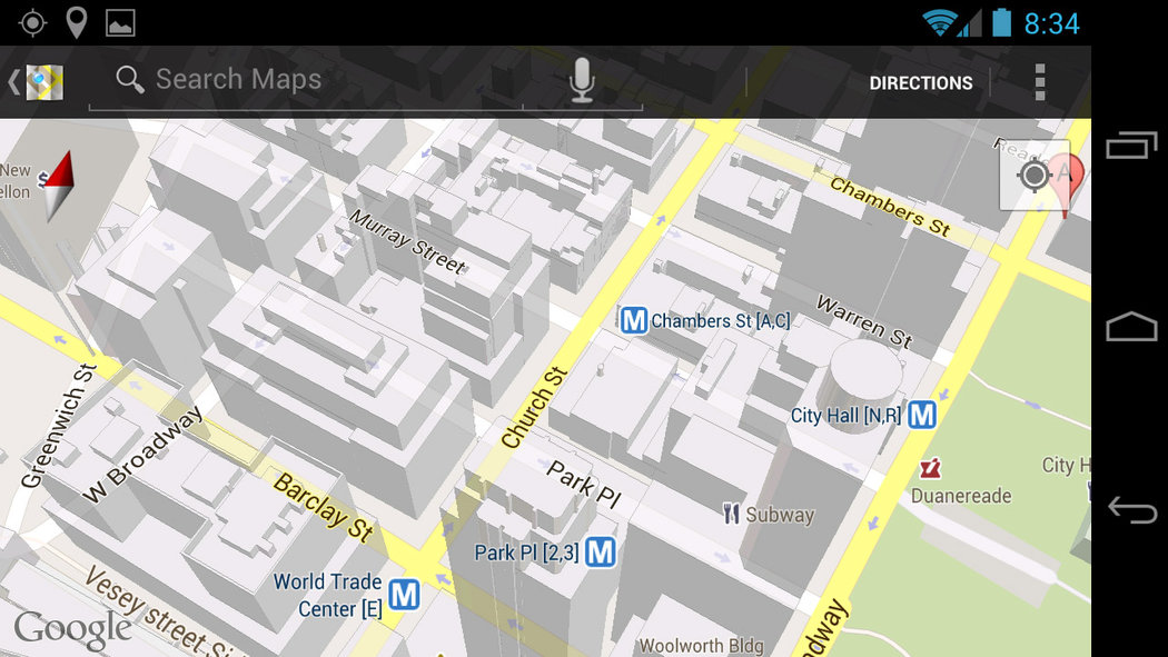 Google Maps Android App Review