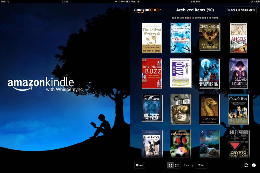 Kindle Android App Review and Free Download