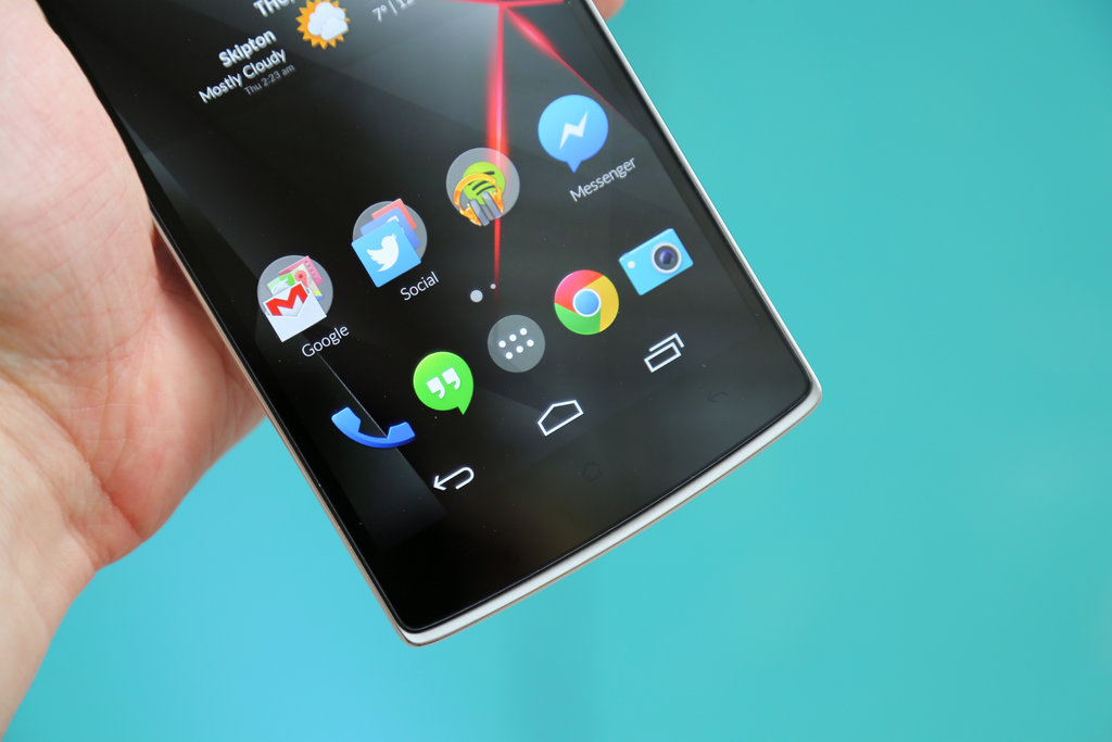 OnePlus One Android 5.0 Operating System and Huawei Update