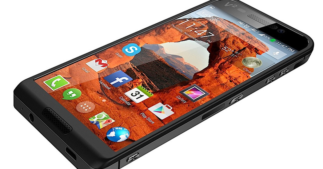 Saygus V2 Android Smartphone Debuts at CES with 320 GB of Internal Memory