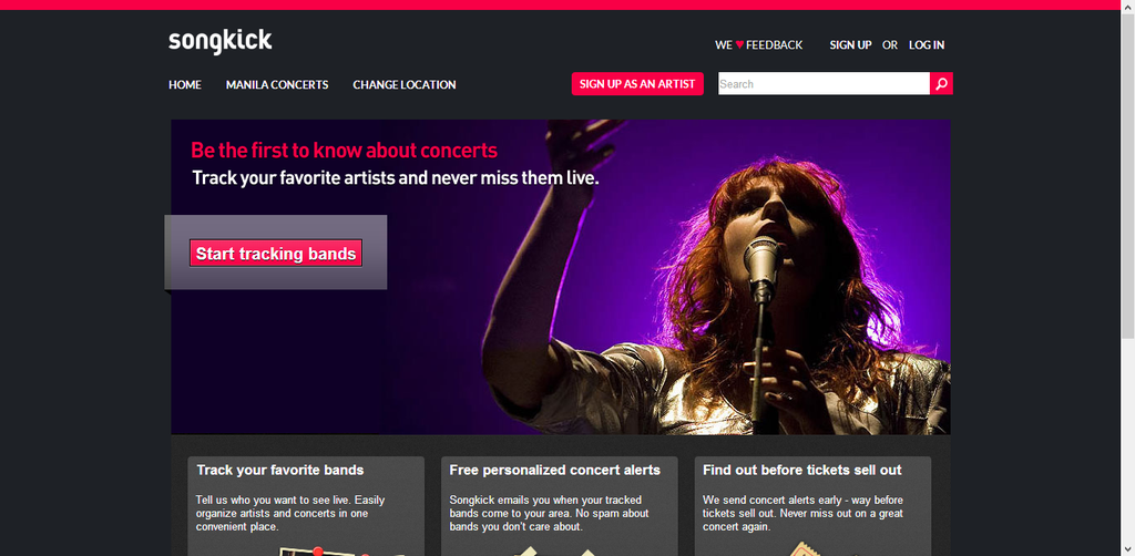 Songkick Concerts Android App Review and Free Download