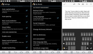 Swype Keyboard Android app review