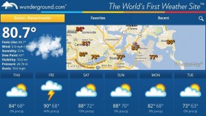 Weather Underground Android App Review