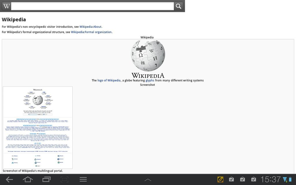 Wikipedia Android App Review and Free Download