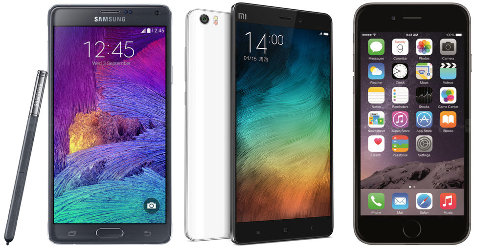 The Chinese Xiaomi Mi Note Pro Looks to Rival the iPhone 6s Plus and the Galaxy Note 5