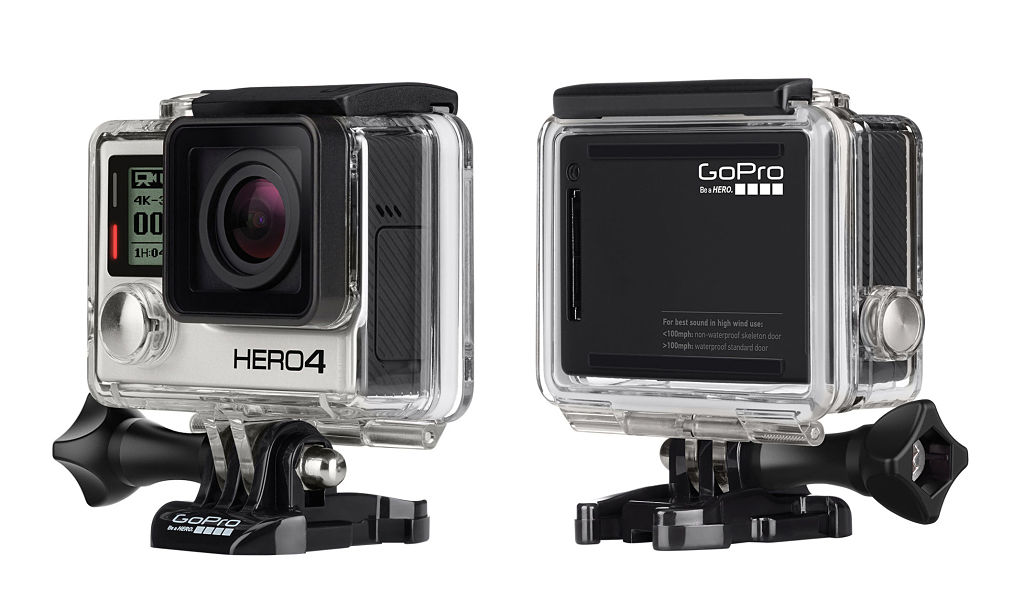 Differences Between the GoPro Hero 4 Black and Silver