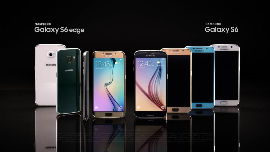 Samsung Galaxy S6 Edge Sales Equals the Sales of the S6; Surpass Early Projections