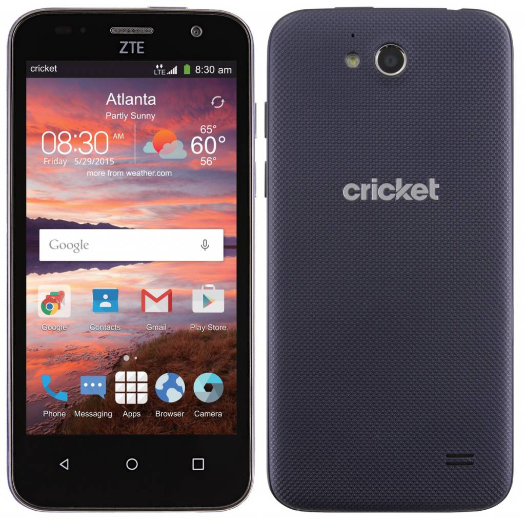 Cricket Wireless ZTE Overture 2 Launched for $49.99 in the US with Lollipop Preinstalled