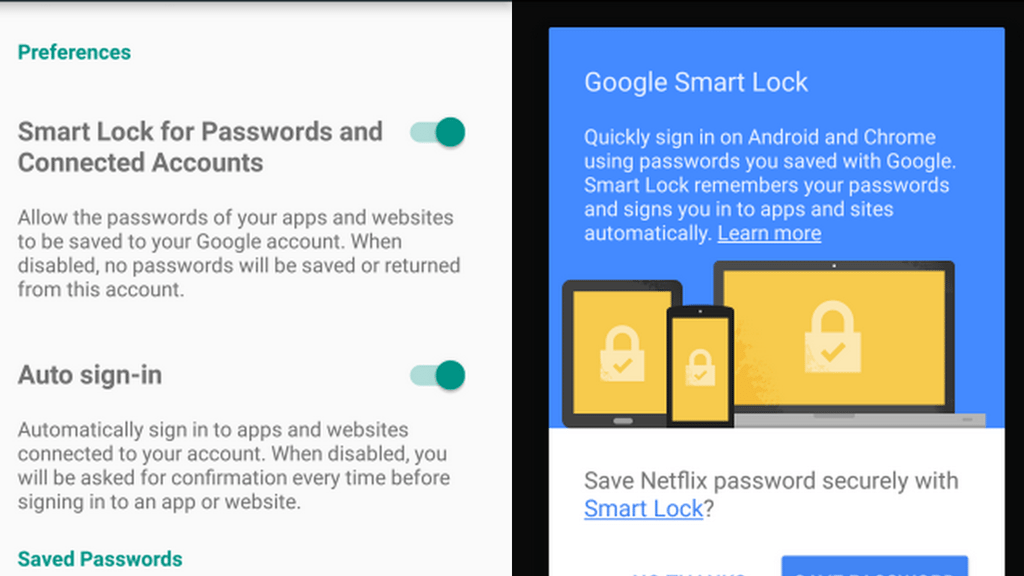 Google's Smart Lock for Passwords May be the Best Password