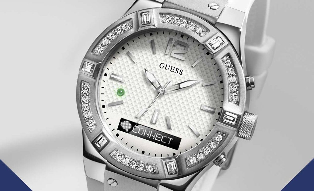 Martian Powered Guess Connect Smartwatch Release October, $349/399