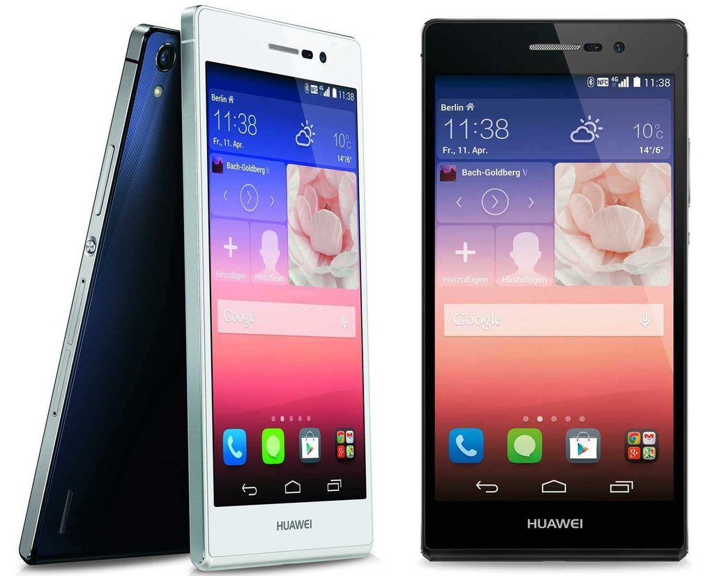 Unlocked Huawei Ascend P7 Price $279, Save $154 with Free Shipping Amazon Exclusive