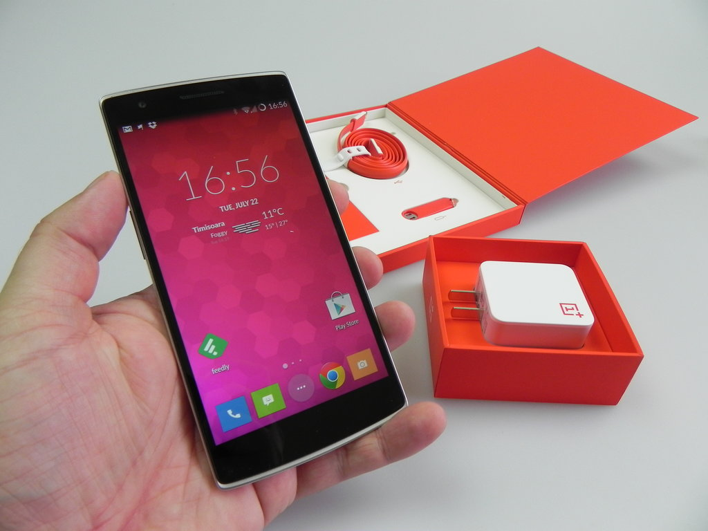 $249 16GB OnePlus One Permanent Price Drop, 64GB for $299, and 64GB with Dropbox Pro for $349