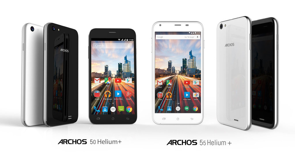 French Manufacturer to Launch Archos 50 Helium Plus and Archos 55 Helium Plus in July for $109 and $139