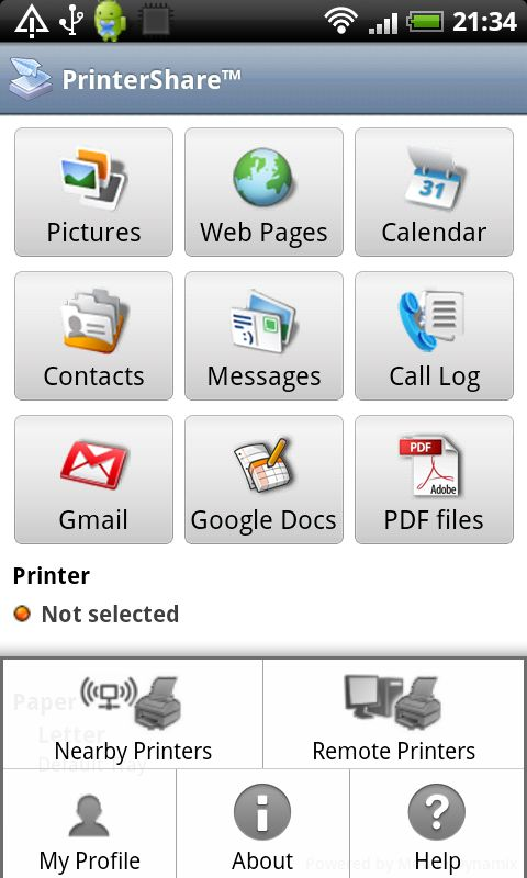 PrinterShare - Android Apps for Business List - 5 Must-have Apps for the Business Owners