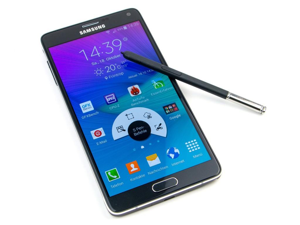 Samsung Galaxy Note 4 - List of 3 Best Samsung Cell Phones