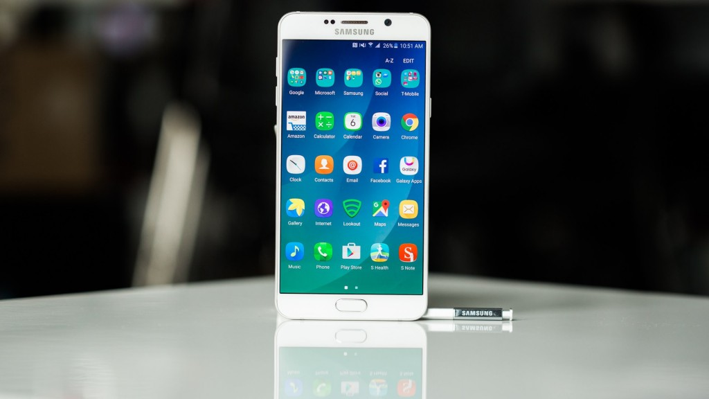 #4 in Our Best Android Phone List - Samsung Galaxy Note 5