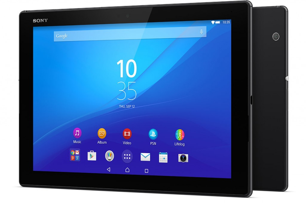 Best Android Tablet - Sony Xperia Z4 Tablet