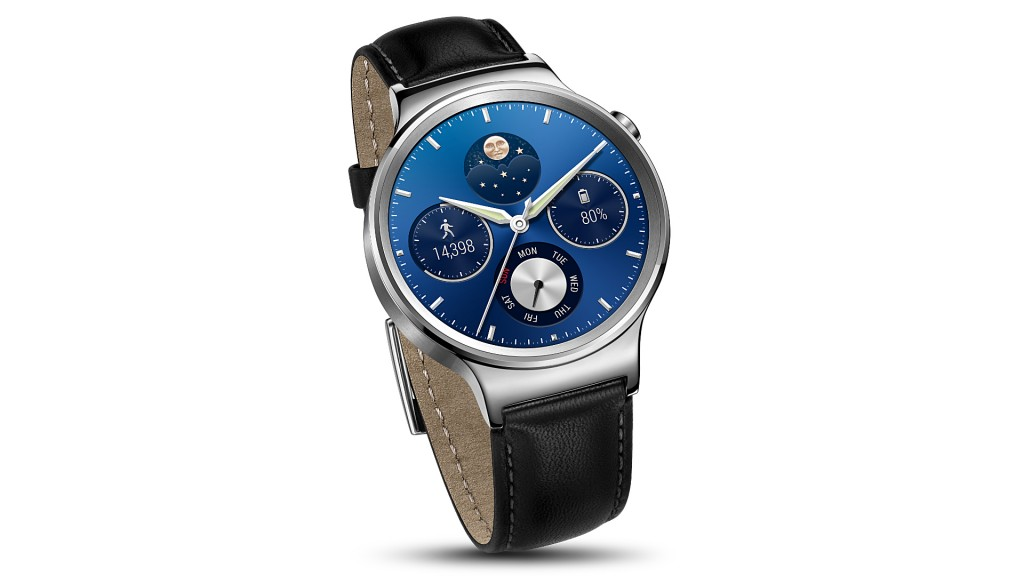 #1 in Our List of Hottest Android Smartwatches - Huawei Watch