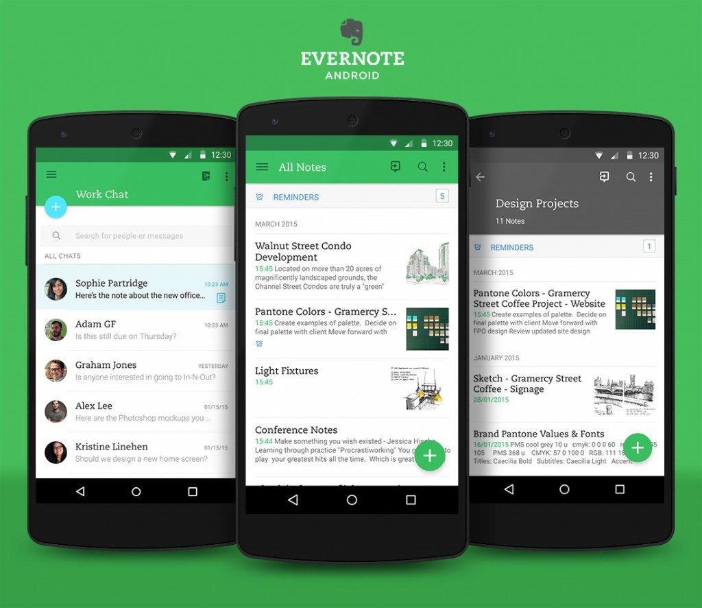 #2 in Our List of Best Android Business Apps - Evernote