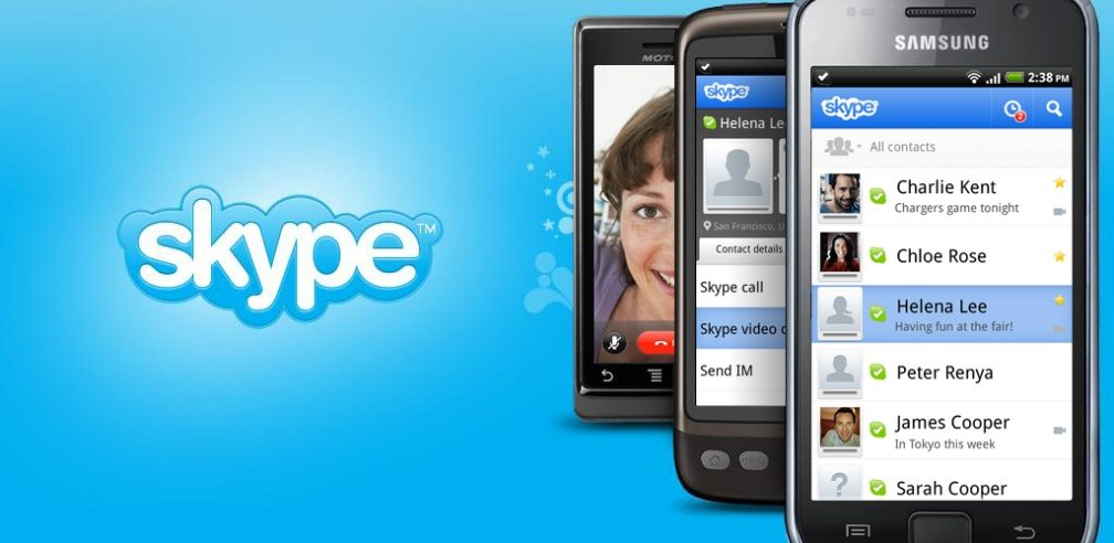 #5 in Our List of Best Android Business Apps - Skype
