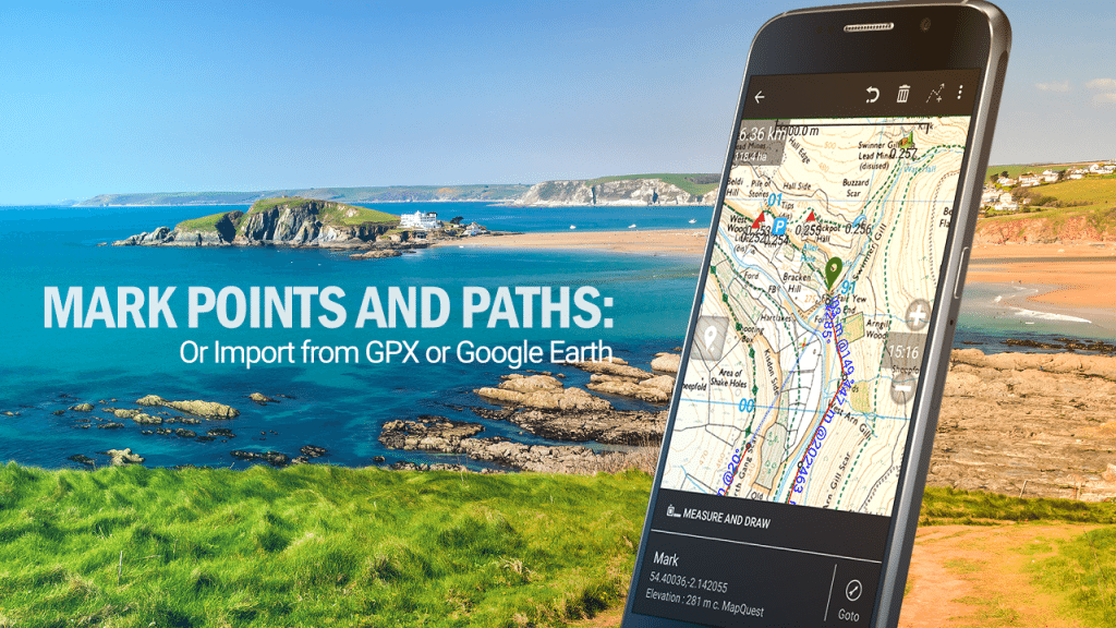 Best Android GPS Apps – BackCountry Nav