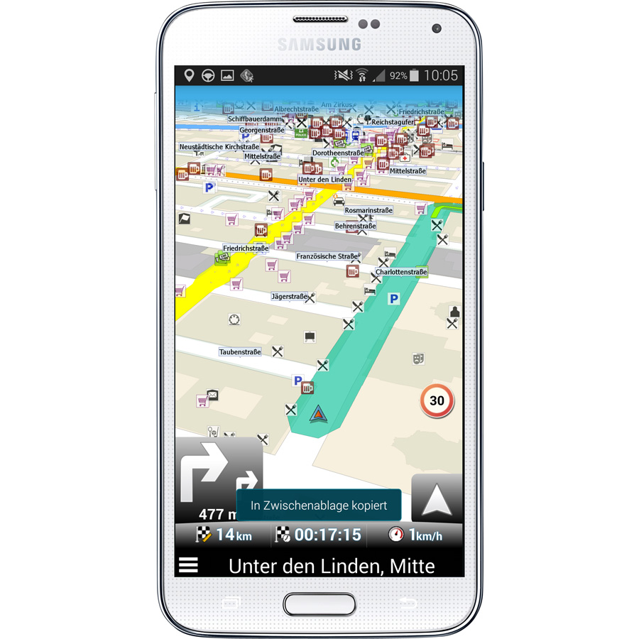 Best Android GPS Apps – MapFactor GPS Navigation