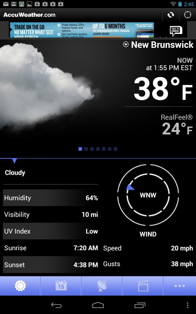 Best Android Weather Apps in 2016 - AccuWeather