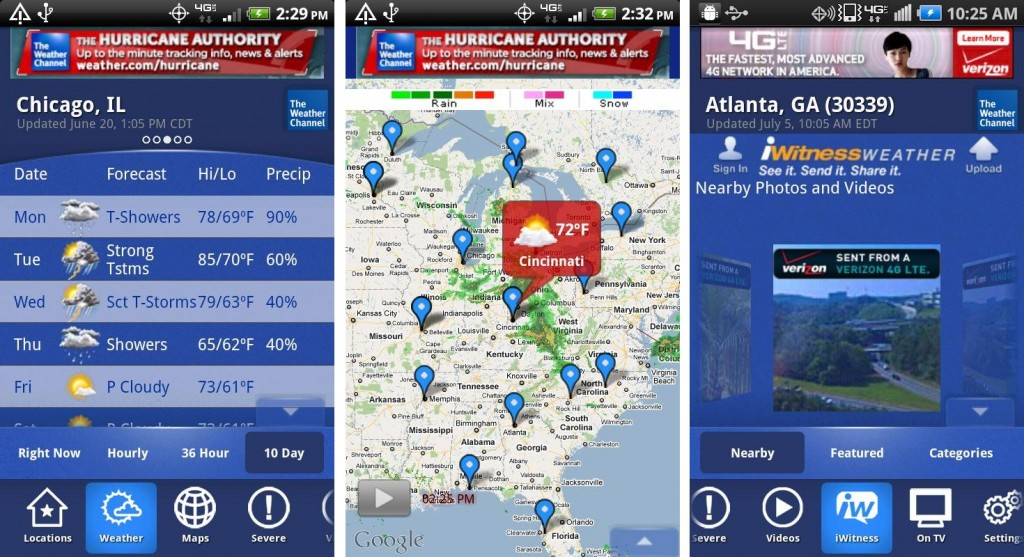 Best Android Weather Apps in 2016 - The Weather Channel