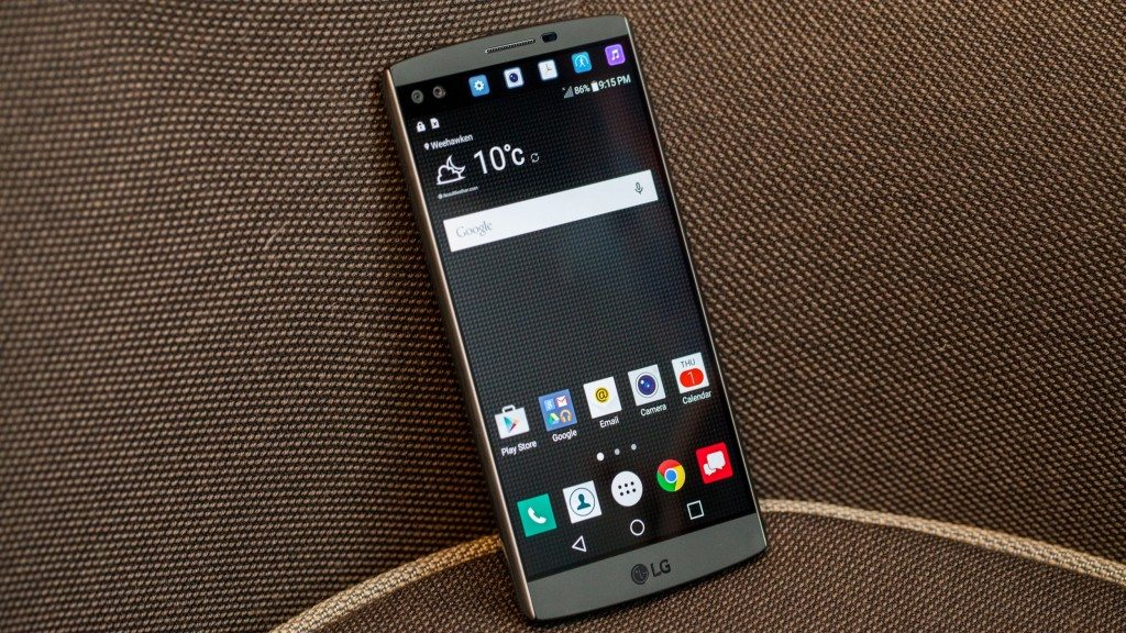#2 in Our List of the Top 5 Android LG Smartphones - LG V10