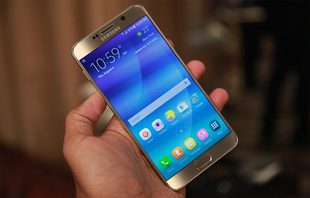 #3 in Our List of the Best Android Samsung Smartphones - Galaxy Note 5