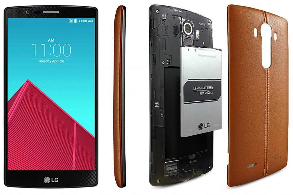 #3 in Our List of the Top 5 Android LG Smartphones - LG G4