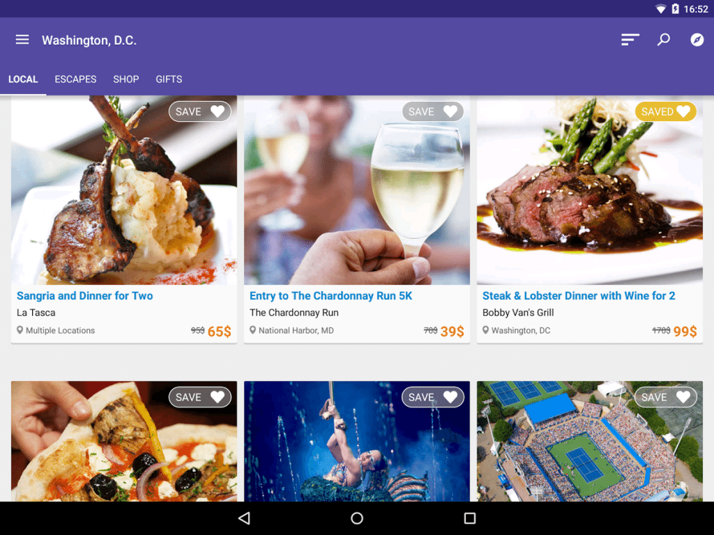 Android Apps for Shopping – LivingSocial