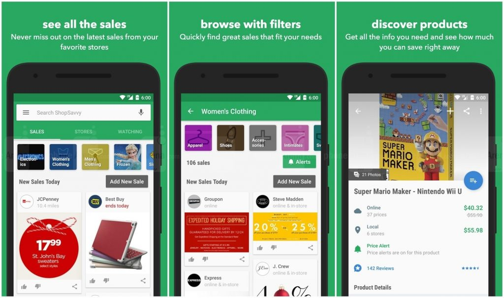 Android Apps for Shopping – ShopSavvy