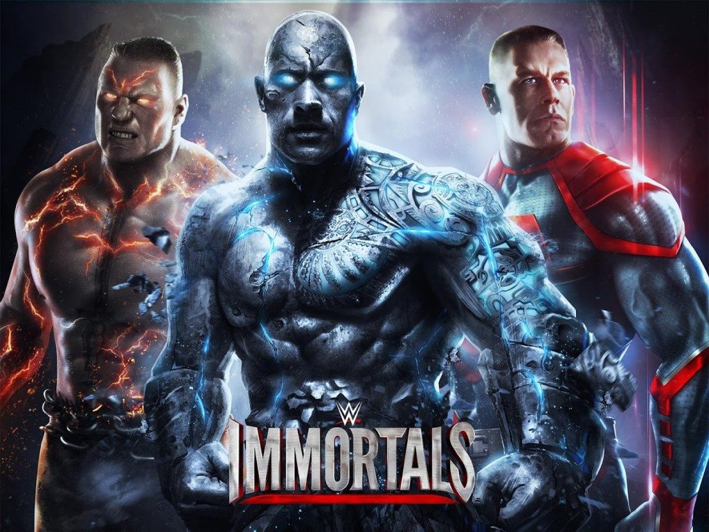 Android Gaming Apps – WWE Immortals