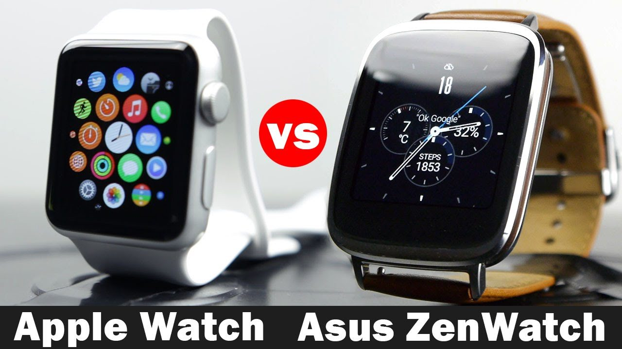 Asus Zenwatch 2 vs Apple Watch: Which is the Best One?