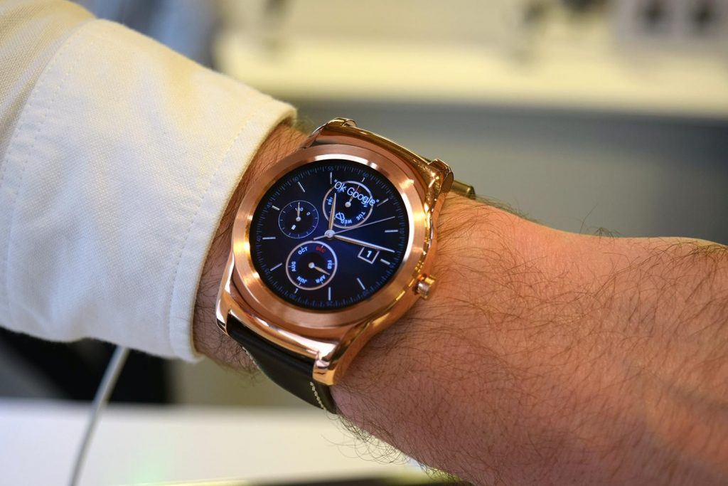 #2 in Our Best Android Smartwatch List - LG Watch Urbane