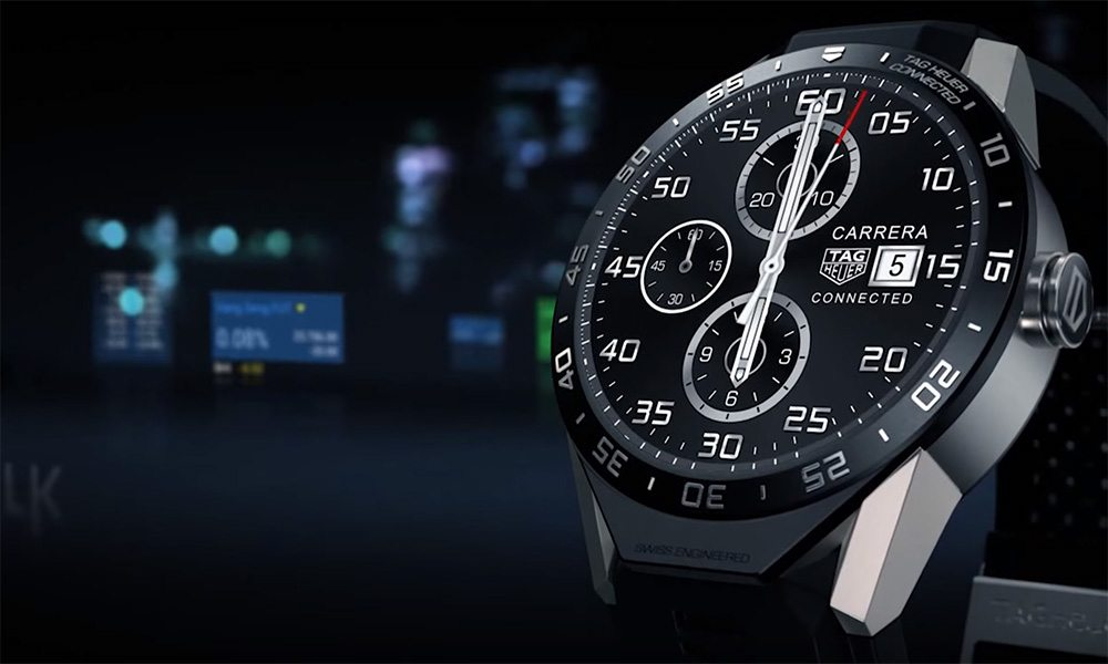 #3 in Our Best Android Smartwatch List - Tag Heuer Connected