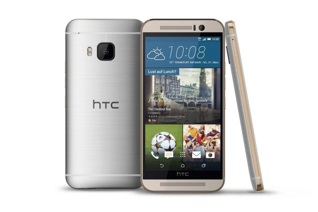 #3 in Our List of the Top 5 Android HTC Smartphones - HTC One M9