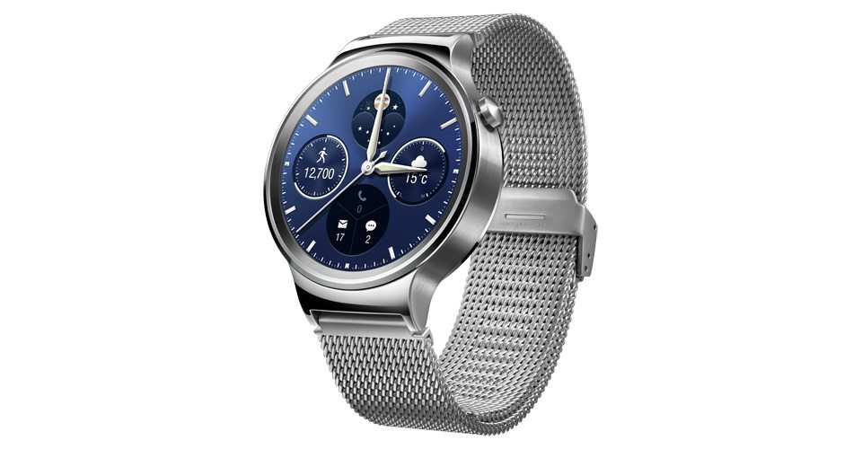 #4 in Our Best Android Smartwatch List - Huawei Watch